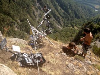 drone ou cable cam