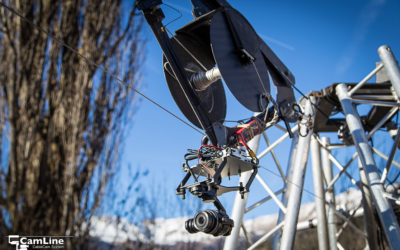 caméra sur cable (de type cable cam)